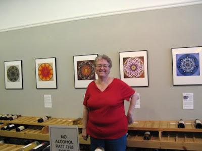 Sue O'Kieffe at Art of Wine