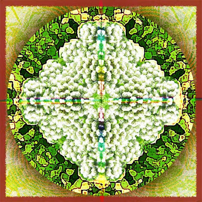green love mandala