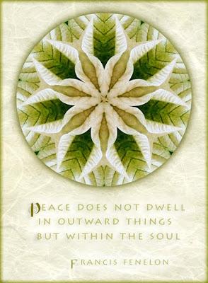 holiday peace mandala