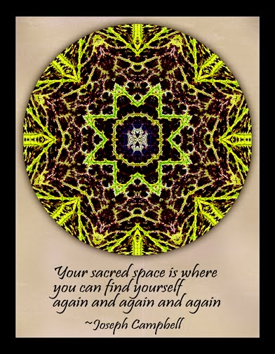 your sacred space mandala