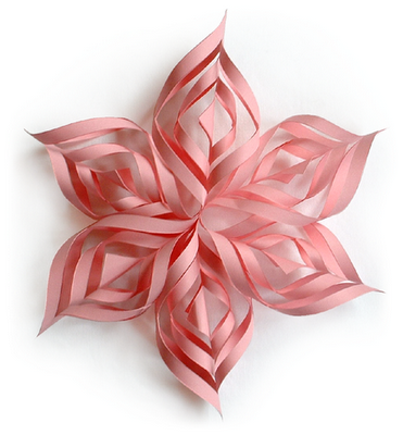 Estrellas colgantes 3D de papel, para decorar bonito ahorrando