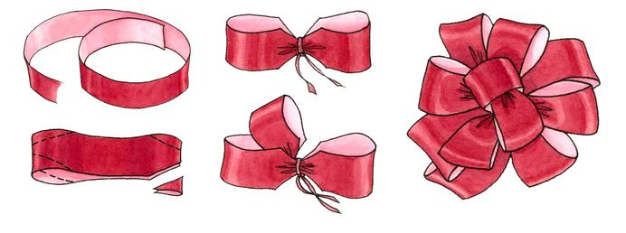 - Lazos para arbol de navidad ...