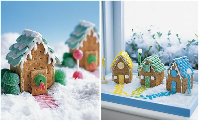 Como hacer casitas de Jengibre para Navidad
