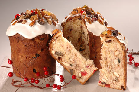 Pan dulce en microondas para Navidad (receta navideña)