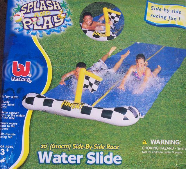 Como hacer una resbaladilla humeda o Slip 'n slide (water slide) casera