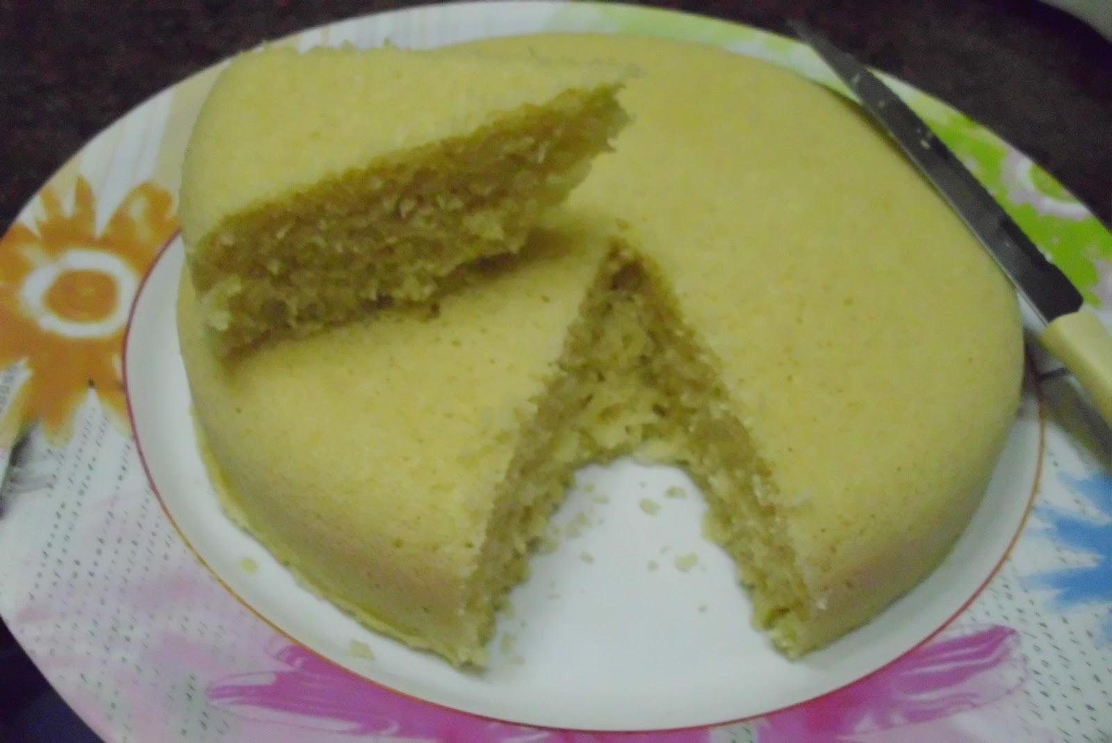 Torta bizcochuelo de coco, facil y rapida, 3 min en microondas