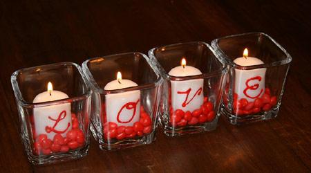 Velas romanticas (AMOR) para el dia de los enamorados