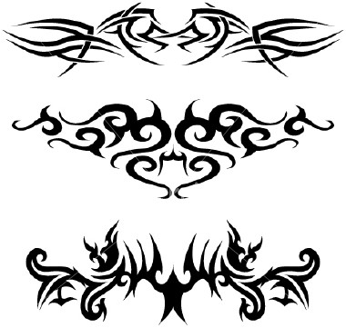 swirl tattoo designs