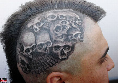 In a nutshell, it's a cool mexican tattoo designs that's a bit foreboding