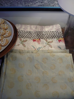 ... Sister Parish Design fabric and wallpaper. (I also want to note that the fabrics and wallpaper are hand screened in Great Barrington, Massachusetts and ...