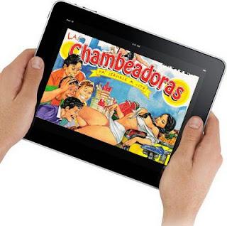 iPad chambeadoras