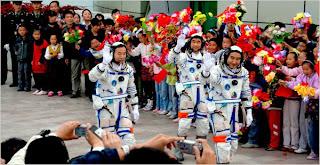 astronatuas chinos taikonautas