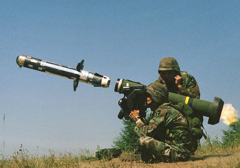سباق التسلح » صاروخ JAVELIN ATGM_Javelin_Launch