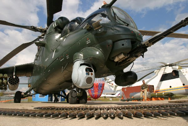 Russian Mi-35 Attack Helicopter - The Flying Tank ~ ASIAN ...
