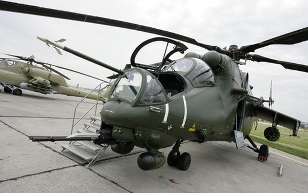 Russian Mi-35 Attack Helicopter - The Flying Tank ...