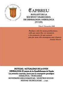 Capbreu - Revista Valenciana de Genealogia y Heraldica