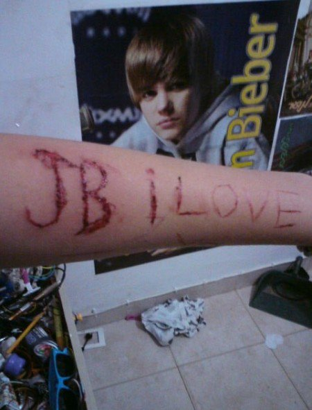 "I seems like ""Bieber Fever"" is really a sickness because Justin Bieber fans"