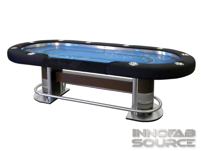 Metal Fabrication Welding Poker Table Stainless Steel Design