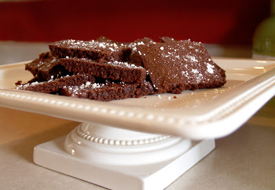Easy Brownie Recipe. From Scratch.