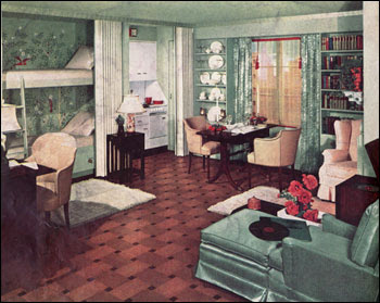 Interior design 1930 39 s for 1930s interior design living room