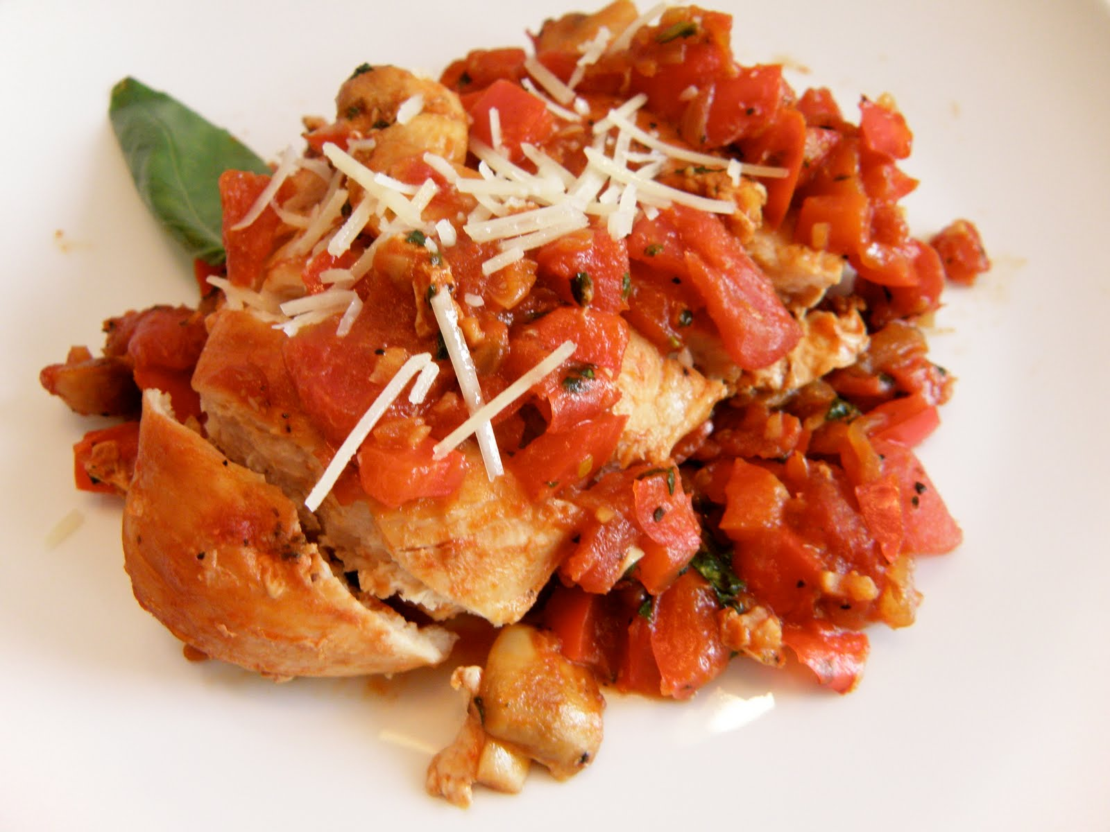 Taste Every Season: Easy Chicken Cacciatore