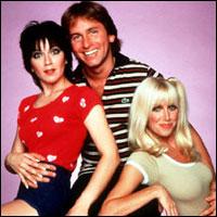 The original three roommates janet joyce dewitt jack john