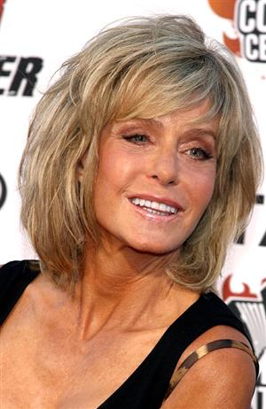 Farrah Fawcett who played Jill Munroe on the TV show
