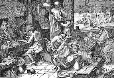 brueghel alchymista