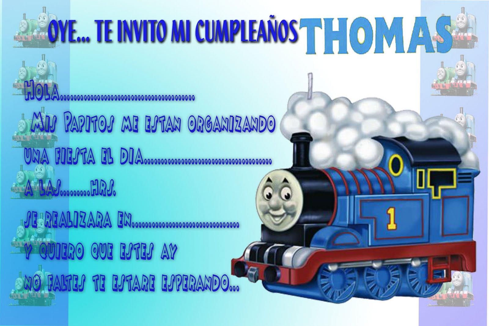 Vistoso Imprimible Gratis Thomas El Tren Para Colorear ...