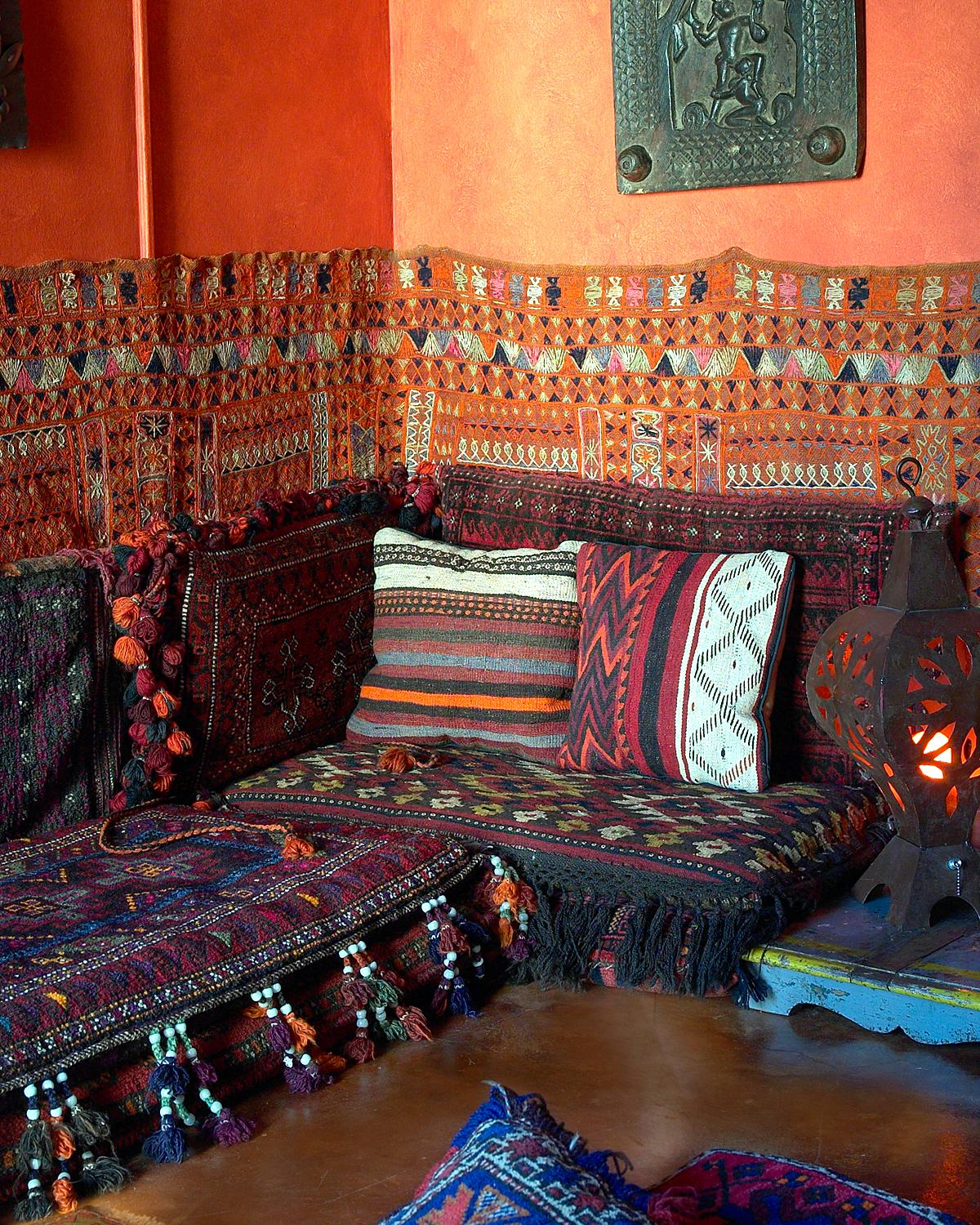 Morrocan floor seating