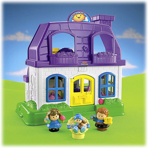 fisher price little people happy sounds home review