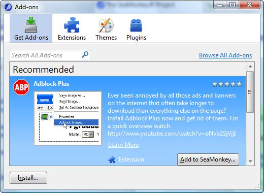 Mozilla addon download resume