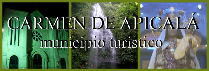 TURISMO CARMEN DE APICALÁ