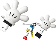 Mickey's hand pen-drive