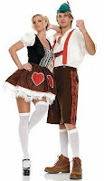 Men's Halloween Lederhosen Halloween Costume