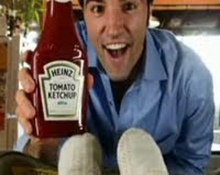 Alex Petrovitch and Heinz Ketchup