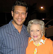 Robert Gant and Betty White