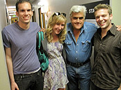 Jay Leno and David Loewy and UPenn