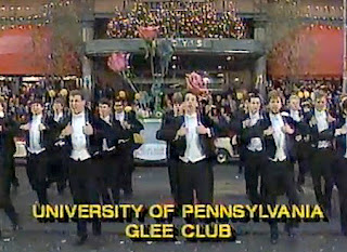 upenn and Glee Club and Macy's Thanksgiving Day parade