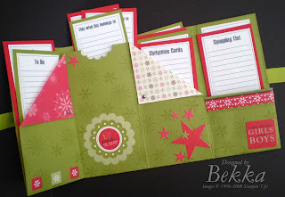 christmas pocket planner