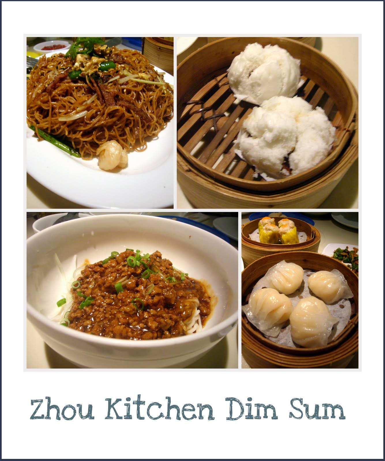 The road less travelled zhou kitchen square 2 for Perfect kitchen dim sum