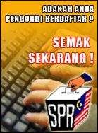 Semak Pendaftaran Pemilih