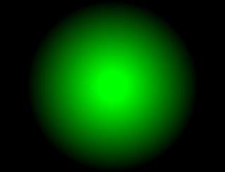 aprendendo a fazer textura de luz verde no photofiltre studio
