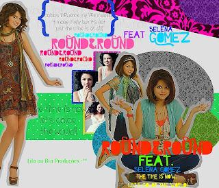 selena gomez blend round & round música edição pfs