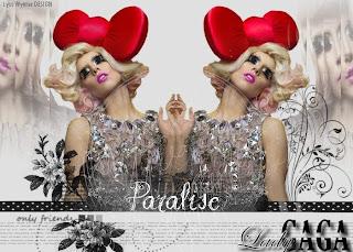 paralise blend lady gaga no photofiltre studio