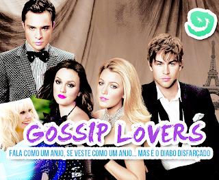Parece um anjo... banner gossip girls lovers feito no PFS