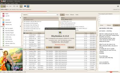 Rhythmbox 0.13.0