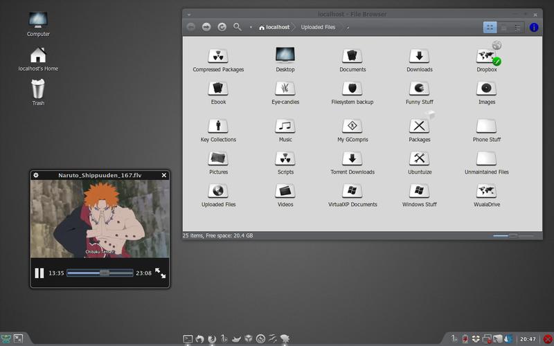 Ubuntu 10.04 Lucid Lynx dengan AWN Lucido