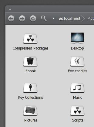 iNiZe: Ikon untuk Folder
