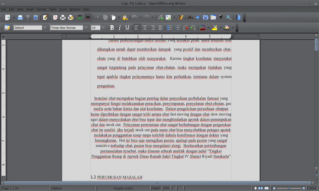 File *.docx dibuka langsung dari OpenOffice.org